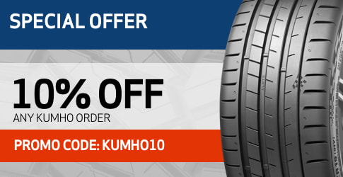 10% discount on Kumho All-Terrain Tires for March 2019