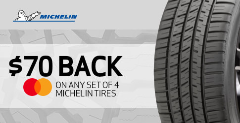 $70 back on the Michelin LTX A/T2 for November-December 2018