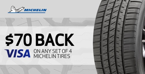$70 back on the Michelin LTX A/T2 for October-November 2018