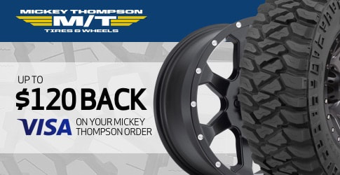 Mickey Thompson All-Terrain Tire Rebate for May 2019